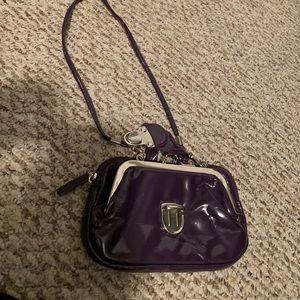 Handbags - Small purple clutch bag